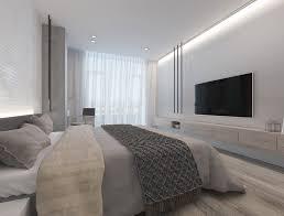 Minimalist Apartment Ethno White