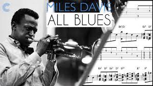 eb treble clef lead sheet all blues miles davis sheet
