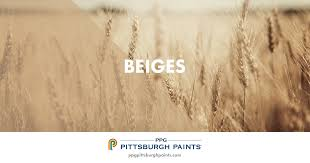 ppg pittsburgh paints beige paint colors