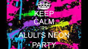 alulis 15th neon party invitation youtube
