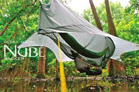 nubé the perfected hammock shelter by sierra madre research youtube