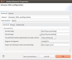 amazon sns amazon sns connector mulesoft documentation