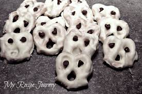 my recipe journey pretzel ghosts