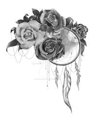 roses and dreamcatcher by steamed rabbit on deviantart