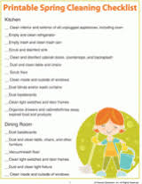 printable spring cleaning checklist room by room familyeducation