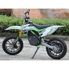 electric motocross bike for kids raptor db500 dirt bike 36v electric kids motorbike green