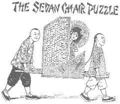 Sedan Chairs Sedan Chair Puzzle Sam Loyd