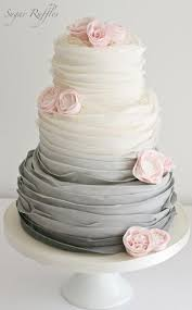 wedding cake inspiration wedding cake ruffles and sugaring