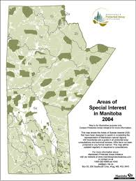 Manitoba Canada Map by Protected Areas Map Gallery Manitoba