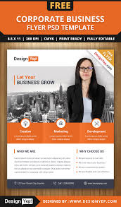 template flyer country free free corporate business flyer psd template designyep free flyers