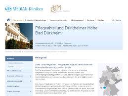 Median Klinik Bad Bertrich Pflegeabteilung Dürkheimer Höhe Bad Dürkheim Heimprofil