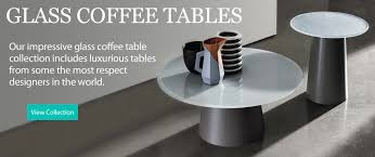 glass coffee tables uk glass furniture specialists glassdomain
