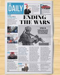adobe indesign newspaper templates free best business template