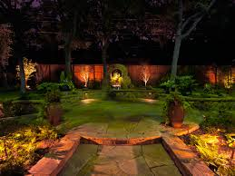 landscape lighting in fort worth tx landscape by design
