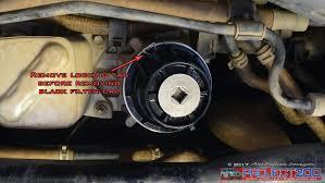 landcruiser 200 oil u0026 oil filter change project 200