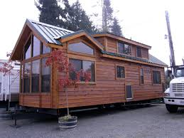 Large Log Cabin Floor Plans House On Wheels For Sale Visit Open Big Tiny House On Wheels At