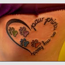try a new paw print tattoo design photos pictures and sketches