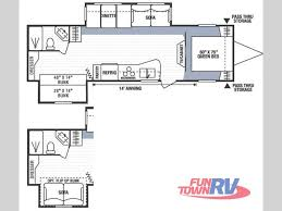 used 2008 kz spree 318bhs travel trailer at fun town rv cleburne