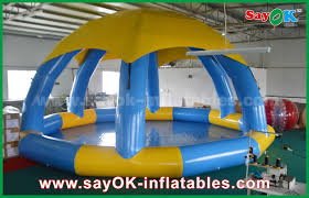 pvc dia 5m summer inflatable sports games inflatable swimming pool