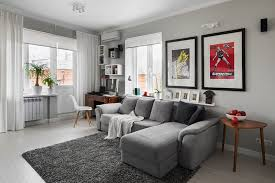 Living Rooms With Gray Sofas 64 Great Attractive Gray Sofa Living Room Grey For Small