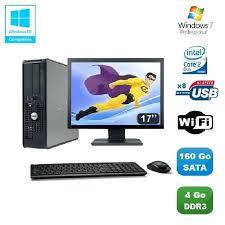 pc bureau prix pc bureau complet ordinateur de bureau complet avec wifi prix pas