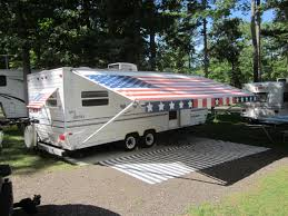 Awning Fabric For Rv How To Clean Rv Awnings Clean And Care Your Rv Awning Outdoorscart