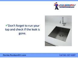 the west palm beach plumber u0027s manual on how to fix a leaky kitchen fa u2026