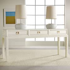 modern wood console table vintage look modern wood console table painted with white color