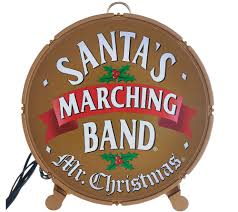 mr christmas 25th anniversary santa u0027s marching band page 1