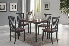Pleasing  Casual Kitchen Table And Chairs Design Decoration Of - Black kitchen table and chairs