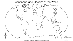North And South America Map Blank by Continent Clipart 5 Ocean Pencil And In Color Continent Clipart