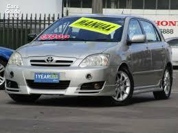 toyota corolla sportivo for sale 2005 toyota corolla sportivo for sale 5 999 manual hatchback