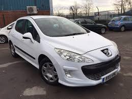 peugeot 308 gti white 2011 peugeot 308 s 1 6 hdi 5dr facelift model in white cheap