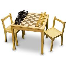 chess table and chairs set sterling games wooden chair set for chess table walmart com