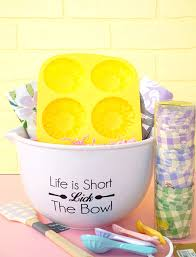baking gift basket easter baking gift basket happiness is