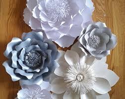 Flower Wall Decor Flower Wall Decor Etsy