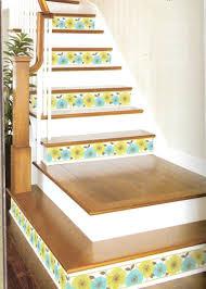 treppe dekorieren ideen ehrfürchtiges treppen fliesen streichen die treppe