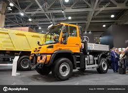 mercedes truck unimog moscow sep 5 2017 view on service truck mercedes