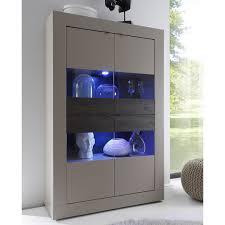 Wohnzimmer Dekoration Ebay Vitrine Basic Schrank Wohnzimmer Breit Beige Matt Und Eiche Wenge