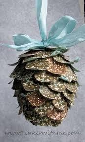 pine cone decoration pottery barn