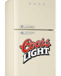 coors light beer fridge coors light beer lager colour logo wrap fridge freezer sticker