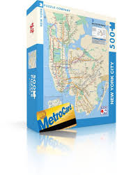 Ny Mta Map Mta Subway Map U2013 New York Puzzle Company