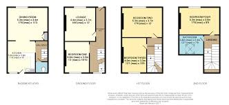 Scarborough Town Centre Floor Plan by 4 Bedroom End Of Terrace House For Sale In Aberdeen Terrace
