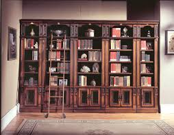 Home Library Furniture by Parker House Davinci Library Bookcases Ph Dav420 430 6 At