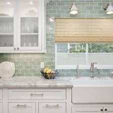 green subway tile kitchen backsplash surf glass subway tile white cabinets subway tiles and subway