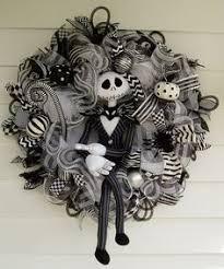 nightmare before christmas ribbon xl nightmare before christmas wreath skellington