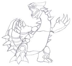 groudon coloring pages