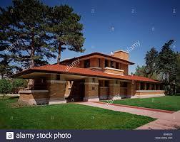 Wichita Kansas Henry J Allen House 255 N Roosevelt Blvd Wichita Kansas Stock