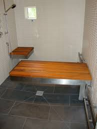 handicap accessible shower bench u2014 upper story design