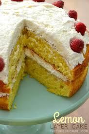 lemon layer cake the domestic rebel